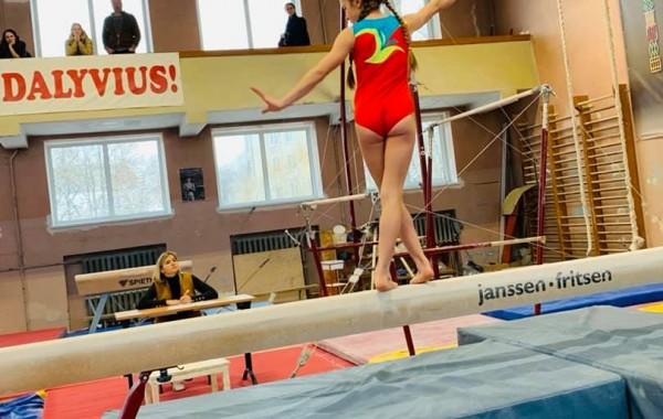 2019 metų vaikų žiemos akrobatikos varžybos